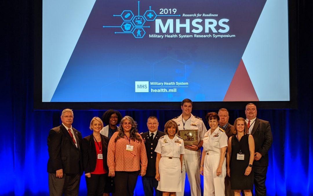 San Antonio Whole Blood Consortium Earns Military Outstanding Accomplishment Award