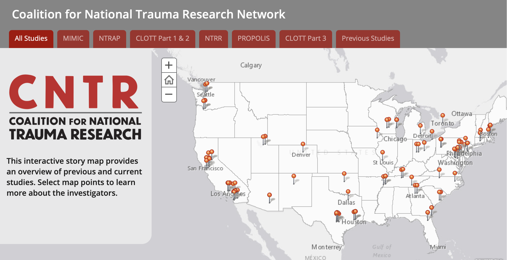 Coalition for National Trauma Research